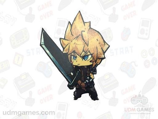Final Fantasy - Cloud / Imãs