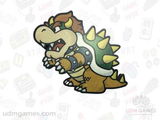 Super Mario - Bowser / Imãs