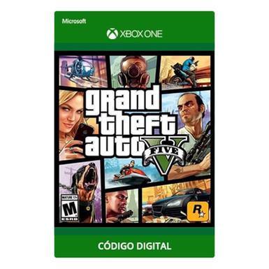 Grand Theft Auto V - GTA V - Xbox One Código 25 Dígitos