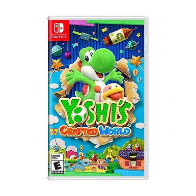 Yoshi's Crafted World - Nintendo Switch/Mídia Física