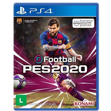 Jogo PES 2020 Pro Evolution Soccer - PS4/Mídia Física