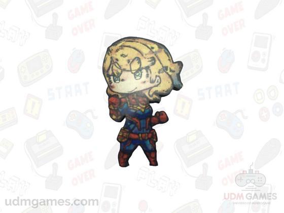 Capitão Marvel / Imãs