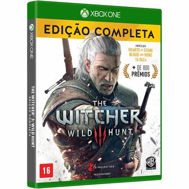 Game The Witcher 3 Wild Hunt Edição Completa - XBOX ONE/Mídia Física
