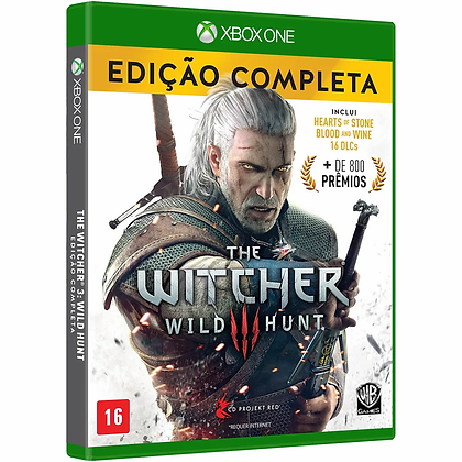 Game The Witcher 3 Wild Hunt Edição Completa - XBOX ONE/Mídia Física