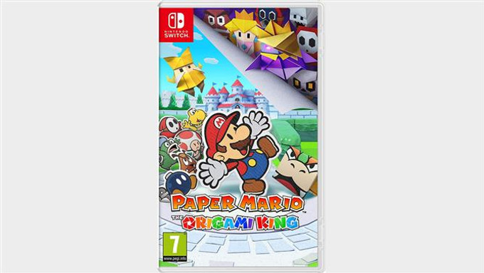 Paper Mario: The Origami King  - Switch/Mídia Física.