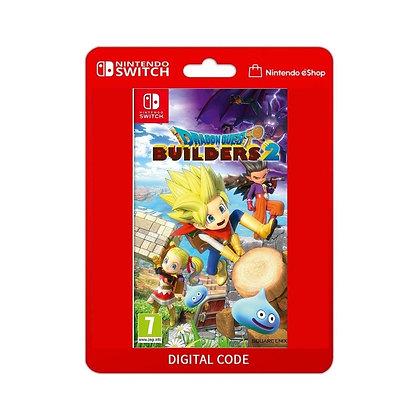 DRAGON QUEST BUILDERS 2 - Nintendo Switch Código 16 Dígitos