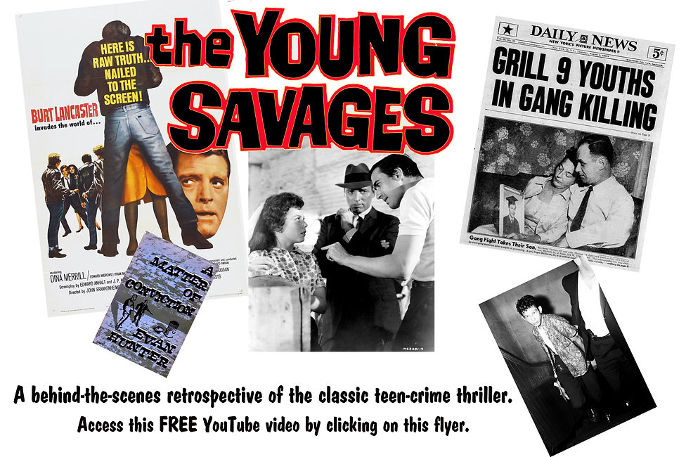 Young Savages Retrospective Flyer For Wi