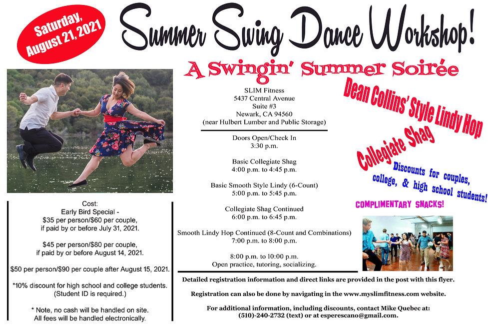 Flyer For August 21, 2021 Lindy & Shag Workshop 2 bars.jpg