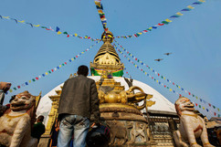 Day 1: Swayambhunath temple