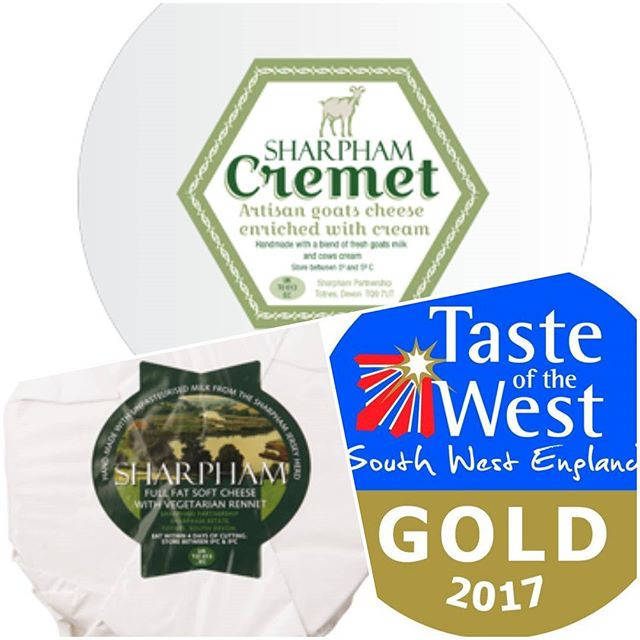 Award Winning Sharpham Cheese in stock
