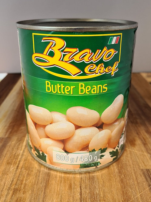 Butter Beans 800g-Tinned