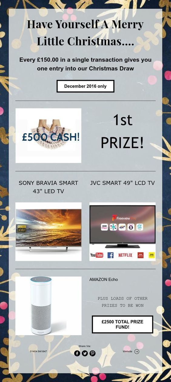 £500 Cash & more to be won!