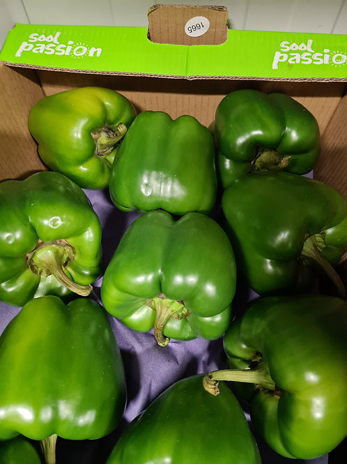 Green peppers. 1kg
