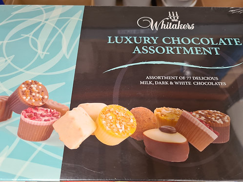 Whittakers Assorted luxury Chocolates x77