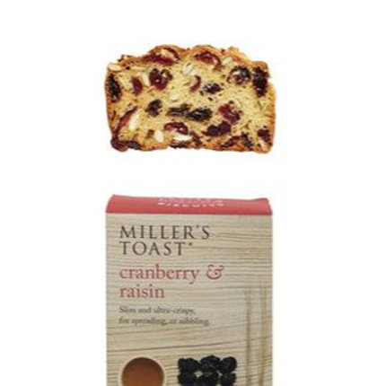 Toasts Cranberry & Raisin  100g