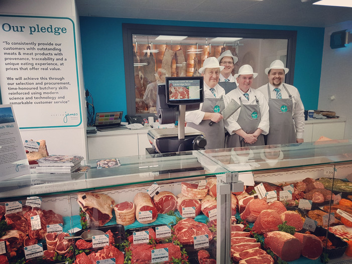 Showing support for our local butcher & meat provider at their Open Day