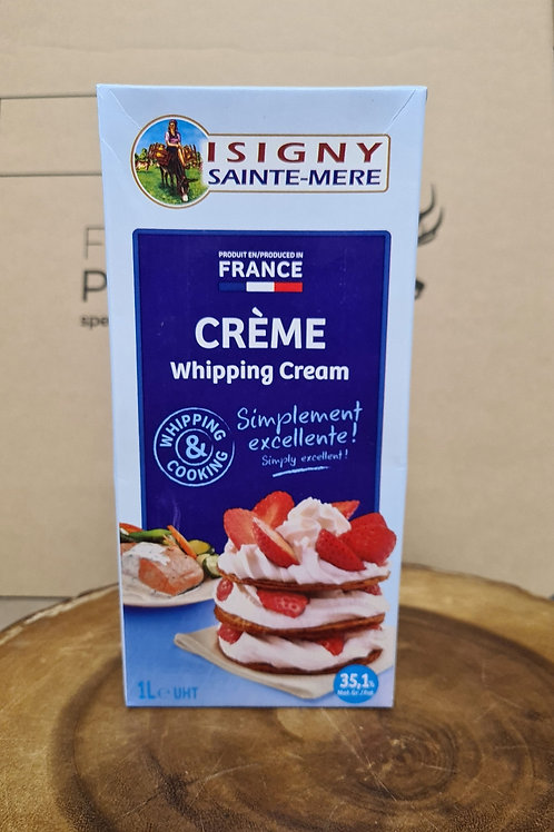 Normandy Cream ISGNY 1ltr UHT-A pastry chefs favourite!