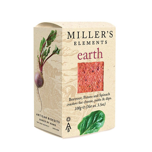 Miller's Earth Crackers 100g