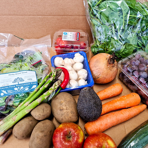 Fruit and vegetable box. Small