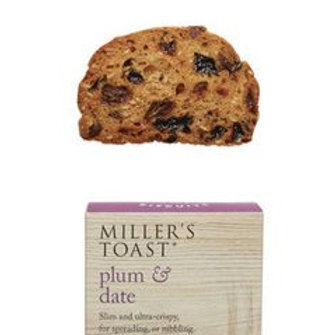 Toasts Plum & Date 100g