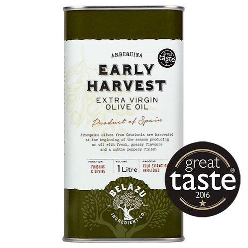 Belazu Early Harvest EVO 1ltr Tin
