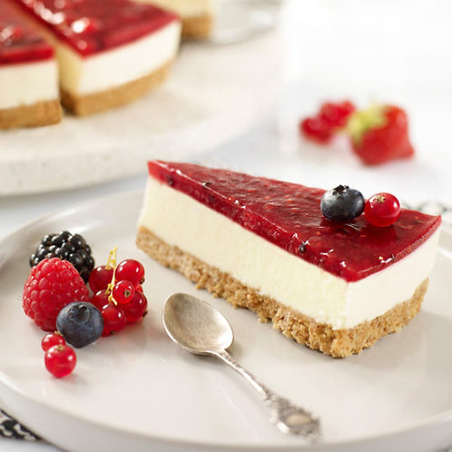 Red Berry Cheesecake 12 portion x 2