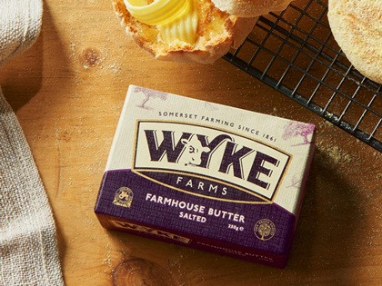 SALTED WYKES FARM BUTTER 20 x 250g £33.00, be quick!