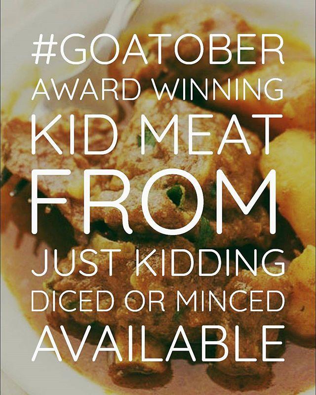Putting Kid Meat on the menu