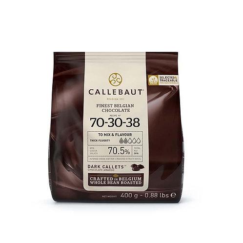 Callebaut 7030 Dark Pistoles 70%, 2.5kg