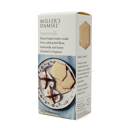 Damsels Buttermilk Wafers for cheese 125g
