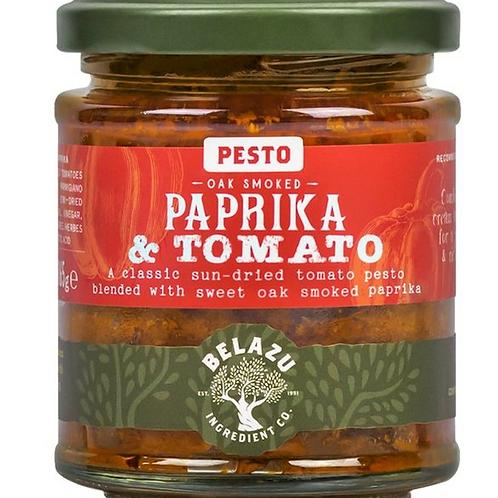 Oak Smoked Paprika & Tomato Pesto-BELAZU 165g