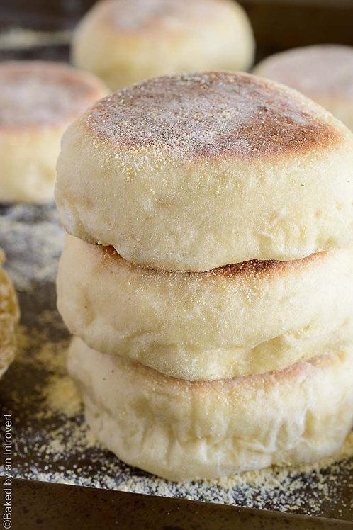 Muffins-Traditional English Breakfast Muffins x 6