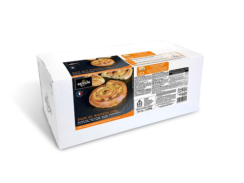 Pain Au Raisin 110 G x 22