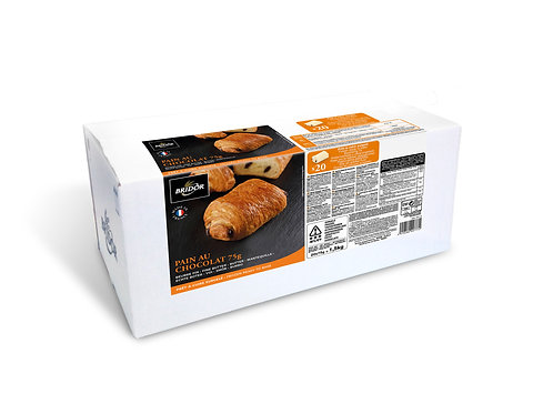 Pain Au Chocolate 75 G BRIDOR x 20