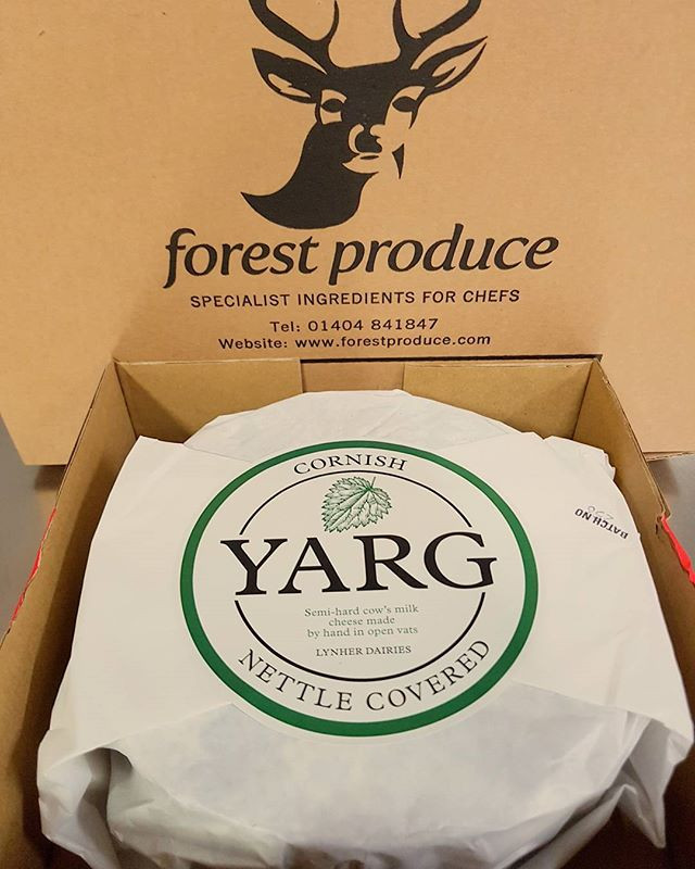 Cheese of the Week; Cornish Yarg