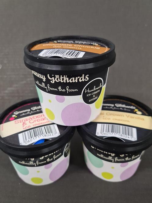 Granny Gothards Vanilla Ice Cream 12x100g
