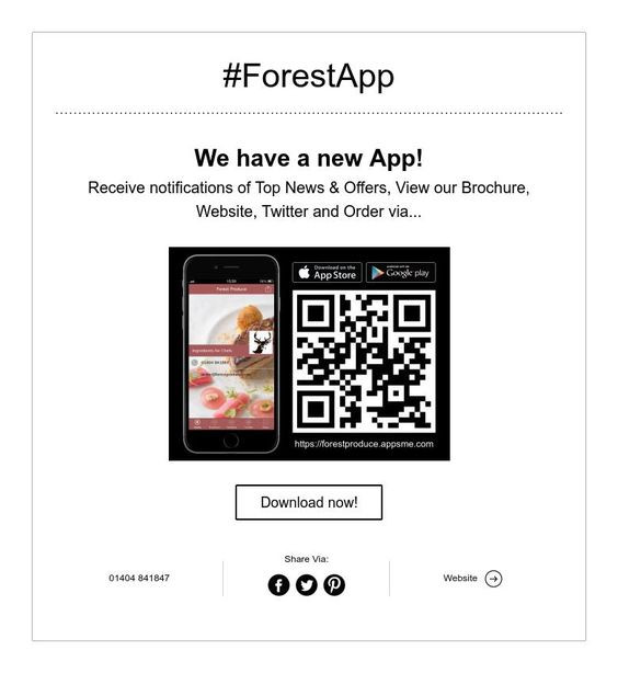 #ForestApp, Chefs new bff!