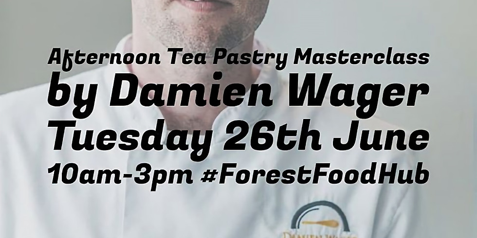 Afternoon Tea Pastry Masterclass with Damien Wager