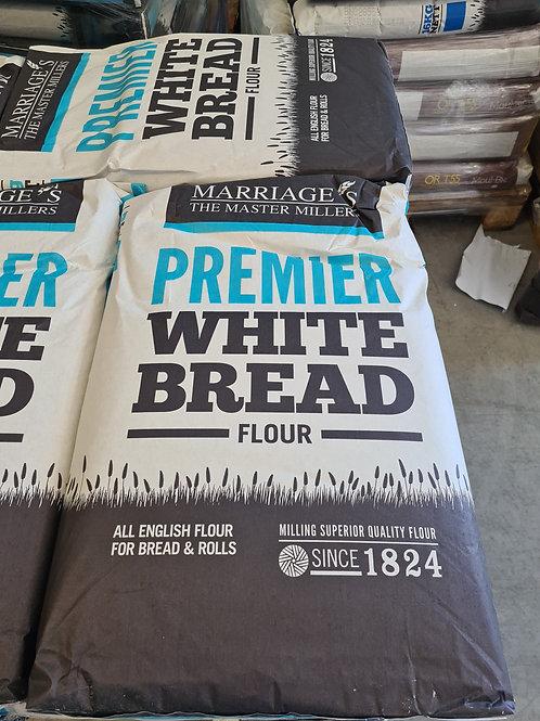 Marriages Premier White Bread Flour 16kg