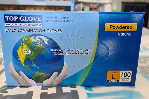 Latex Gloves x 100-Large