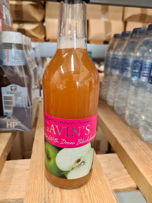 Gavins Apple & Blackberry Juice 330ml