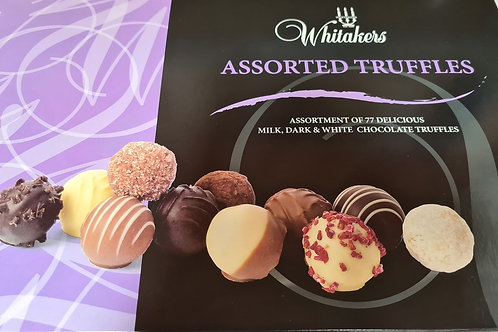 Whittakers Assorted Chocolate Truffles x77