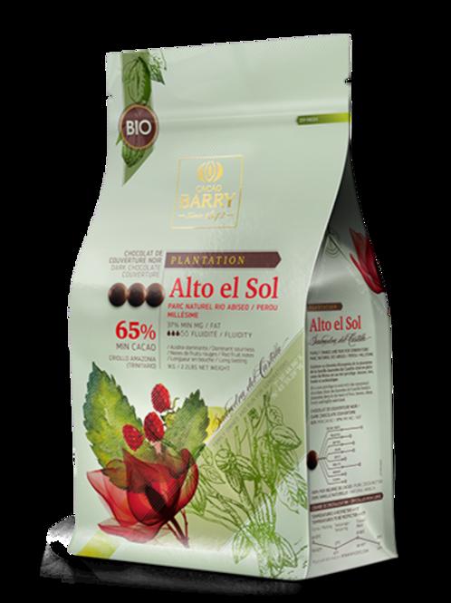 Cocoa Barry Alto El Sol Organic Chocolate 64% Fairtrade