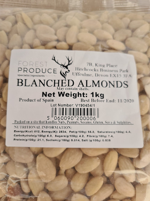 Almonds-Whole 1kg
