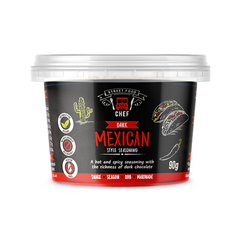 Essential Cuisine Dark Mexican Seasoning 90g