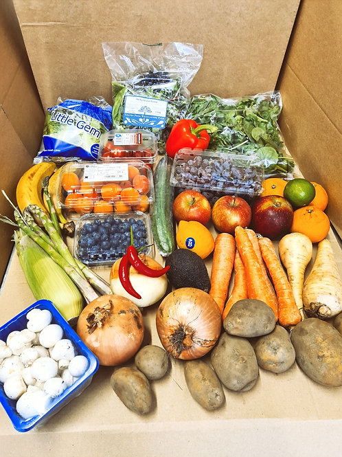 Fruit and Vegetable Box, Large.