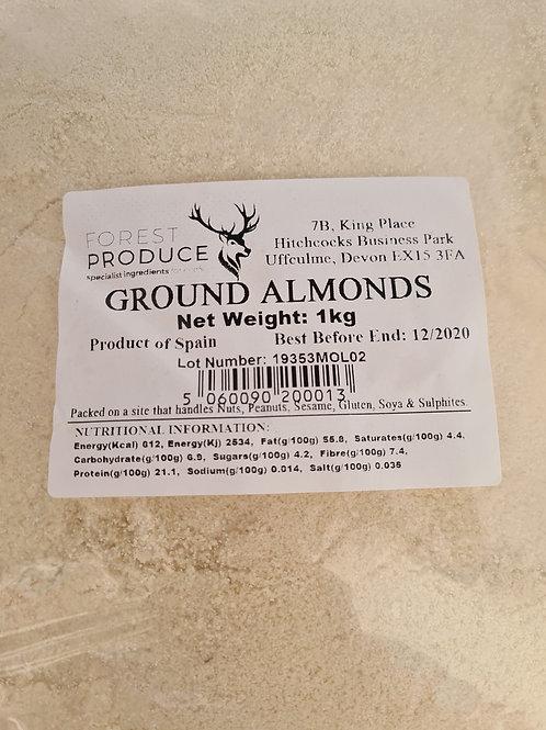Almonds-Ground 1kg