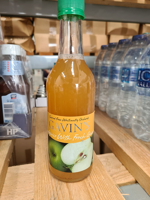 Gavins Apple Juice with Ginger 330ml