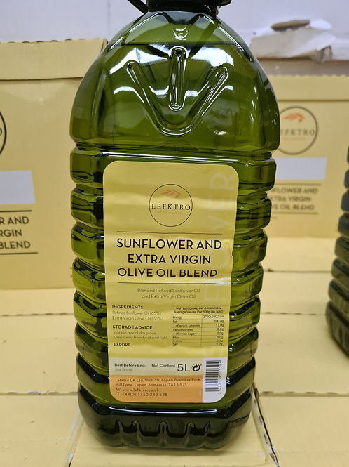Sunflower & Extra Virgin Olive Oil Blend.5 Ltr