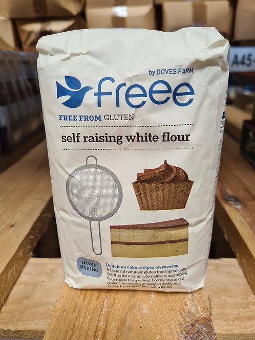 Doves Gluten Free Self Raising Flour 1kg